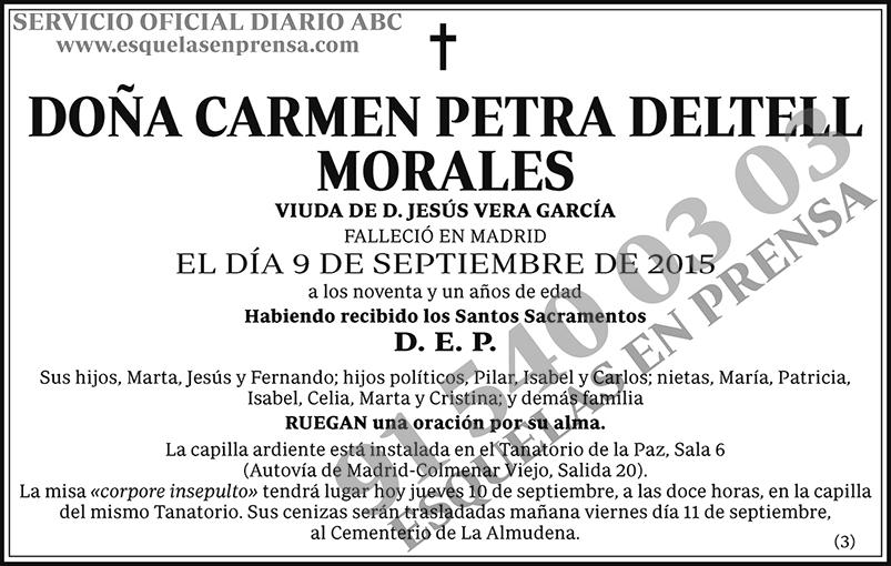 Carmen Petra Deltell Morales